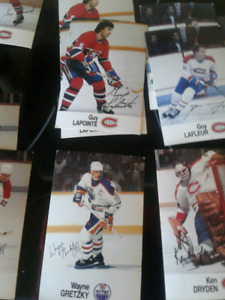Tons of signed hockey older cards