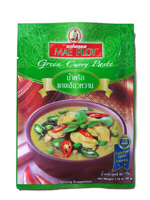 Green Curry Paste Superior Delicious Thai Dish 50g Green Curry Dishes