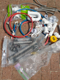 Collection of plumbing materials