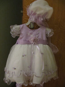 Purple tou-tou dress for Baby Girl 3-6 months & Ballerina Shoes West Island Greater Montréal image 4