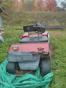 1989 EZGO Marathon golf cart project