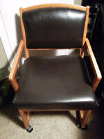 Awesome genuine leather chairs