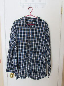 Men's XXL Shirts: Casual and Golf Shirts (one brand new)