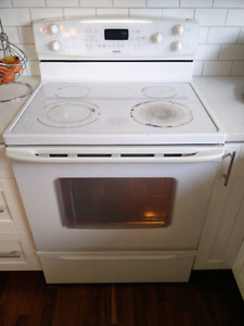 White Convection, self cleaning stove 250 OBO
