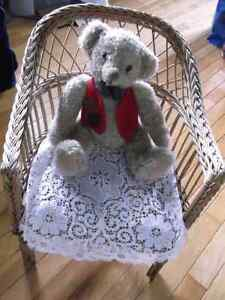 Vintage Chair and Bear