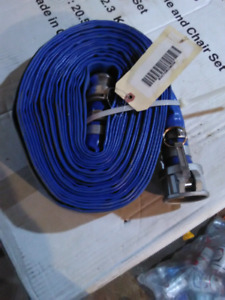"2"" quick attach water hose."