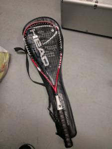 Black Knight squash racquet