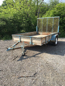 6 X 10 trailer with ramp