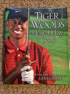 Tiger Woods How I Play Golf book in very good condition