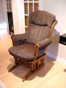Chaises fauteuil berçant Dutailier