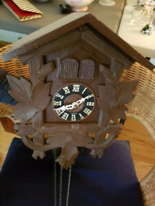 VINTAGE MADE IN GERMANY CUCKOO CLOCK