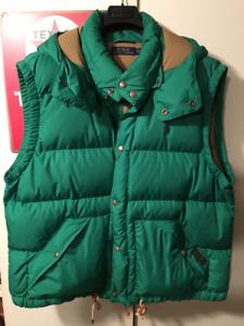 Polo Ralph Lauren winter puffer vest
