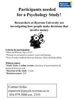 Participants Needed for an Online Psychology Study!