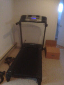 Treadmill in good condition.  Perfect for home gym.  MOVING SALE