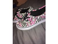 Limited edition Disney Cheshire Cat vans size UK 7