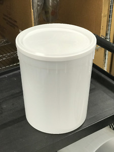 11.4 Litre Plastic Pails with Lids (tight seal)