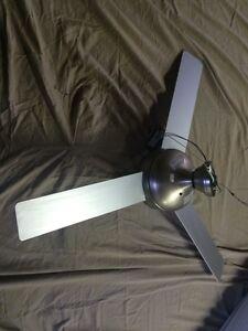 Ventilateur plafond - stainless - 50$