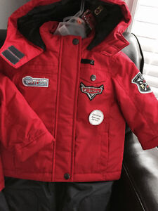 New! Disney Cars 2 of snowsuits size 12-18 Kitchener / Waterloo Kitchener Area image 2