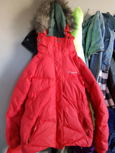 Women's medium omni heat Columbia jacket