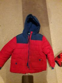 Boys 3-4 years padded coat