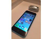 Iphone 5c 16gb Blue Unlocked