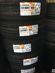 235-60-17,NEW ALL SEASON TIRES ON SALE80$ only