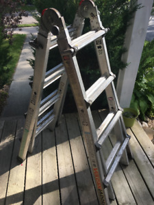 Vulcan, heavy duty 3 way ladder