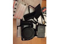 Canon 400D (body only) with accessories
