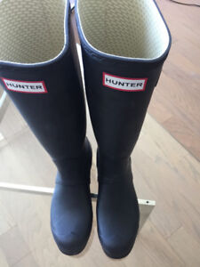 Hunter Boots Original Tall Matte US Size 6 UK 5