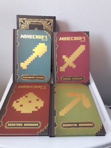 Scholastic Minecraft the complete handbook collection