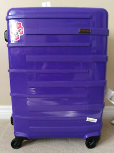 "MINT PURPLE Heys Helios 26"" Medium Check In Luggage Suitcase"