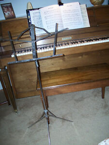 MUSIC STAND - folds neatly into 2 pieces (total 22 inches long)