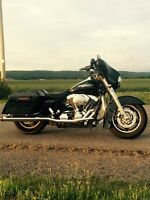 REDUCED for Wharf Rat! Black 06 Street Glide SAVE 1000 NOW 13650