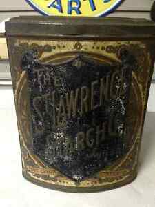 VINTAGE ROYAL ST. LAWRENCE STARCH TIN PORT CREDIT ONTARIO