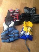 Life jackets 10$ each