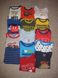 6-12 month clothing lot - 57 items
