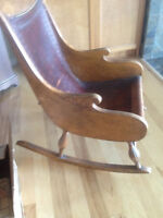 Antique rocker from Nordic countries 1900 -1910