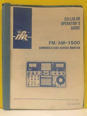 Ifr 1002-5001-300 Fmam-1500 Service Monitor Cellular Operators Guide