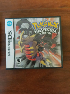 Pokemon platinum ds like new