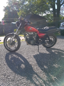 1986 Honda Nighthawk 450 twin