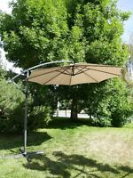 10' Off Set, Cantilever or  Free Standing Umbrella