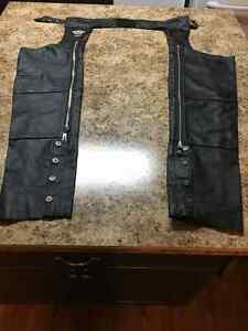 Women's Harley Davidson Leather Chaps Size Small