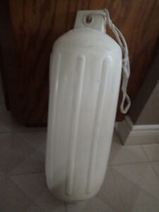 """Set 3 Polyform G5 White Boat Bumpers Fenders  27"""""""