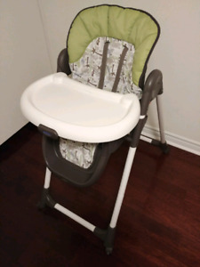 Graco Meal Time High Chair Zoofari, Brown