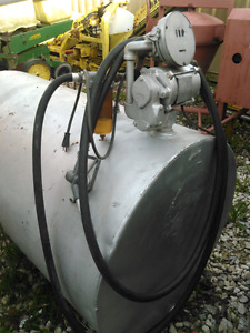 Fuel tank bulk 300 gallons with pump