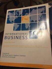 International Business third edition textbook