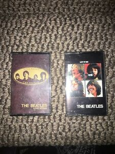 Two Beatles Cassettes