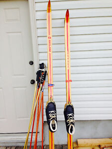 TWO Cross Country Ski Sets