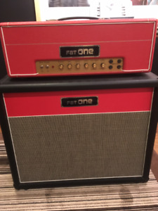 Fat One amplifiers - hand build guitar tube amplifiers