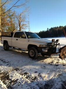 1998 Dodge  2500 Diesel Plow/ Dump